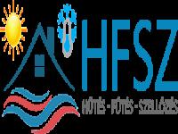 Hűtés-fűtés logó